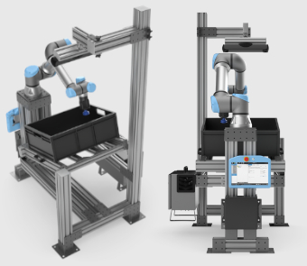 Collaborative robots fulfilling accurate pick and part orientated placement featured image