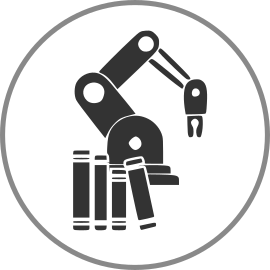 robot library application icon