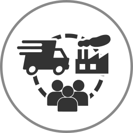 supply chain management application icon