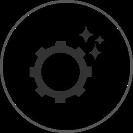 surface finishing application icon